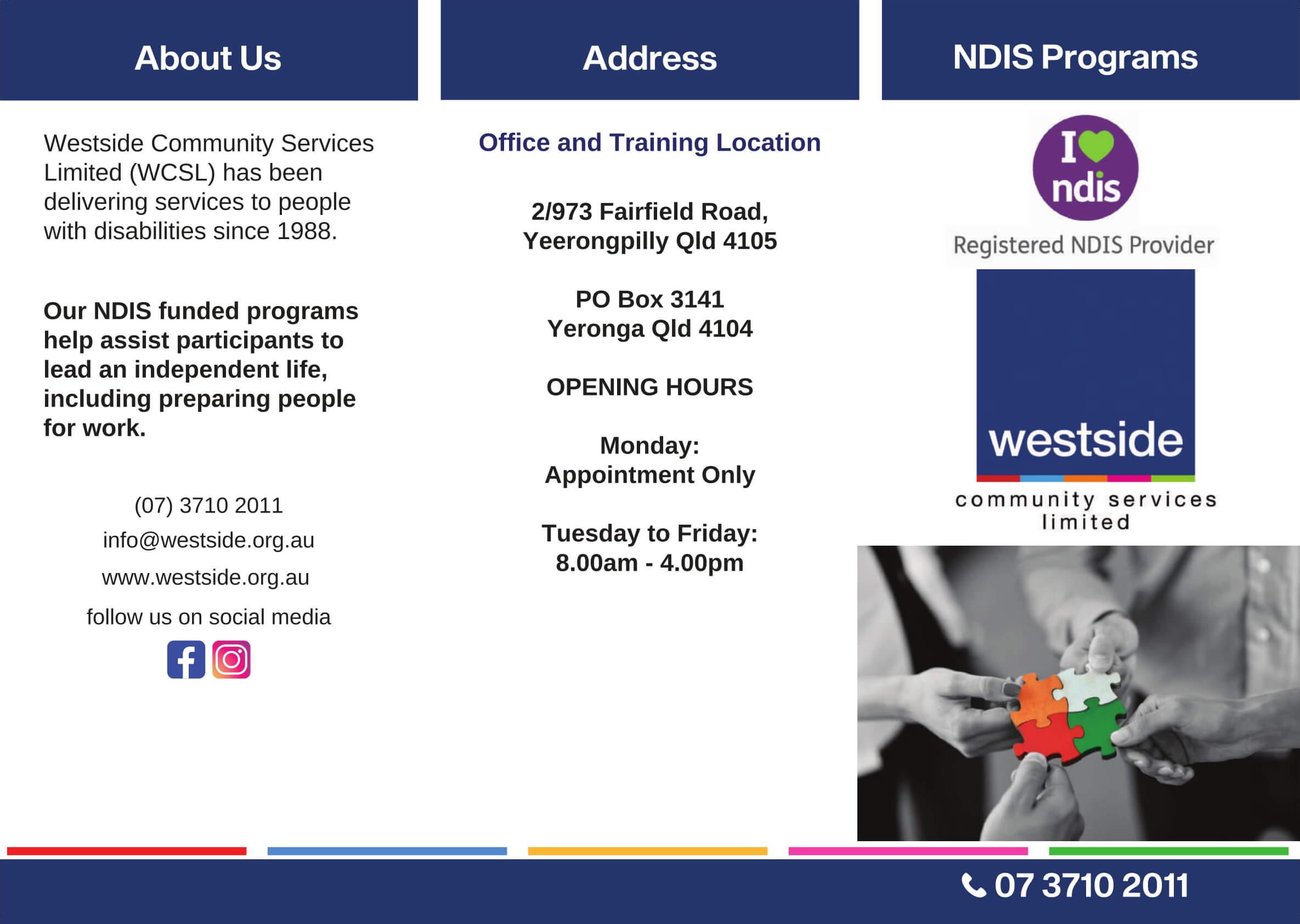 Westside Brochure Resources